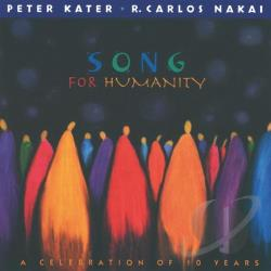 Kater, Peter / Nakai, R. Carlos - Songs for Humanity: A Celebration of Ten Years, 1988-1998 CD Cover Art
