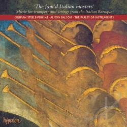 Balsom / Holman / Parley Of Instr / Steele-Perkins - Fam'd Italian Masters CD Cover Art