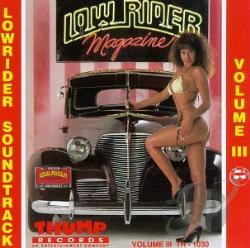 Lowrider Soundtrack, Vol. 3 CD Cover Art