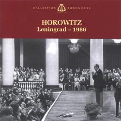 Horowitz, Vladimir - Leningrad - 1986 CD Cover Art