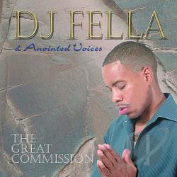 Anointed Voices / DJ Fella - Great Commission CD Cover Art