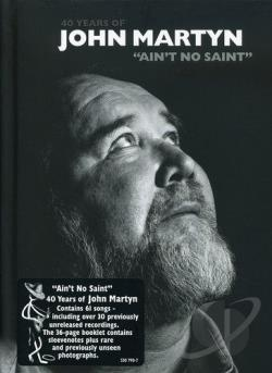 Martyn, John - Ain't No Saint CD Cover Art
