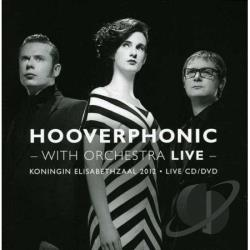 Hooverphonic - Hooverphonic With Orchestra Live CD Cover Art