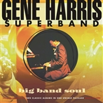 Harris, Gene - Big Band Soul: Live at Town Hall, N.Y.C./World Tour 1990 CD Cover Art