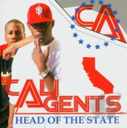 Cali Agents - Head Of State CD Cover Art