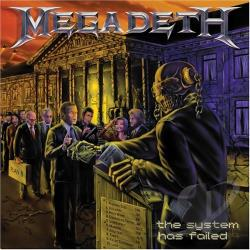 Megadeth - System Has Failed CD Cover Art