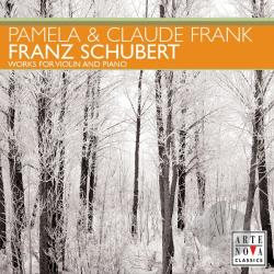 Frank, Cla / Frank, Pamela:vln - Schubert: Works for Violin and Piano CD Cover Art