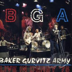 Baker Gurvitz Army - Live in Derby 75 CD Cover Art