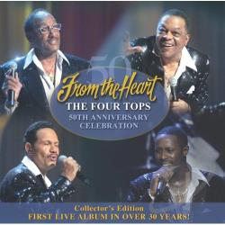 Four Tops - From The Heart CD Cover Art