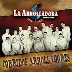 La Arrolladora Banda El Limon D - Corridos Arrolladores CD Cover Art