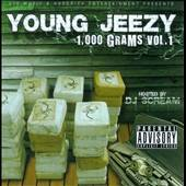 Young Jeezy - 1000 Grams, Vol. 1 CD Cover Art
