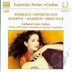 Domeniconiv / Goni / Rodrigo - Laureate Series: Guitar CD Cover Art