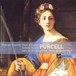 Purcell, H. - Purcell: Odes for St. Cecilia's Day; Music for Queen Mary CD Cover Art