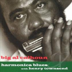 Calhoun, Big Al - Harmonica Blues CD Cover Art