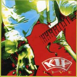 Kix - Live CD Cover Art
