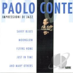 Conte, Paolo - Impressioni di Jazz CD Cover Art