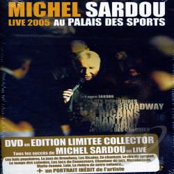 Sardou, Michel - Live DVD Cover Art