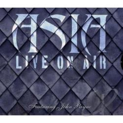 Asia - Live On Air CD Cover Art