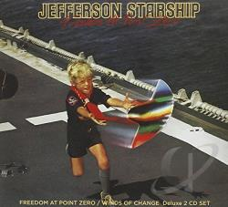 Jefferson Starship - Freedom at Point Zero/Winds of Change CD Cover Art