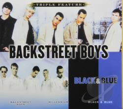 Backstreet Boys - Triple Feature CD Cover Art