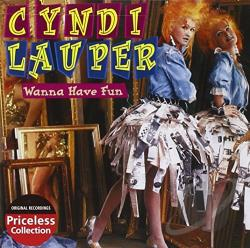 Lauper, Cyndi - Wanna Have Fun CD Cover Art