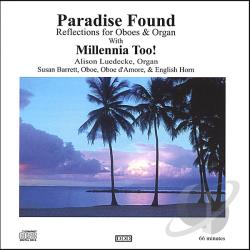 Millennia Too! - Paradise Found CD Cover Art