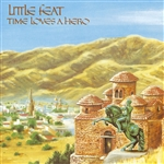 Little Feat - Time Loves a Hero CD Cover Art