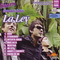 La Ley Karaoke - Karaoke Latin Stars CD Cover Art