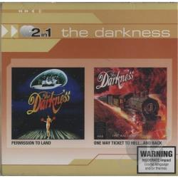 Darkness - Permission To Land/One Way Ticket To Hell CD Cover Art
