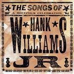 Hank Williams Jr. Tribute LP - Songs Of Hank Williams Jr. (A Bocephus Celebration) DB Cover Art