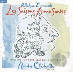 Palladian Ensemble - Saisons Amusantes CD Cover Art