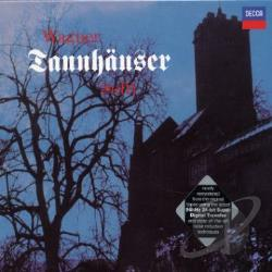 Dernesch / Kollo / Solti / Sotin / Wagner - Wagner: Tannhauser CD Cover Art