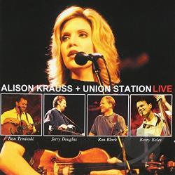 Krauss, Alison - Live CD Cover Art