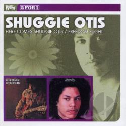 Otis, Shuggie - Here Comes Shuggie Otis/Freedom Flight CD Cover Art
