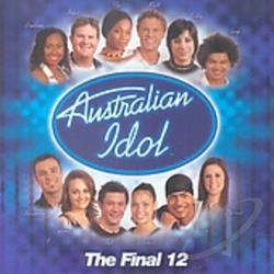 Australian Idol: The Final 12 CD Cover Art