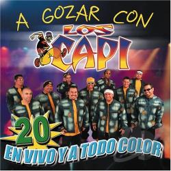 Los Capi - Gozar Con Los Capi CD Cover Art