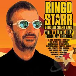 Starr, Ringo / Starr, Ringo & His All Starr Band - With a Little Help from My Friends: The Anthology...So Far CD Cover Art