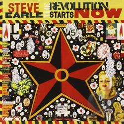 Earle, Steve - Revolution Starts...Now CD Cover Art