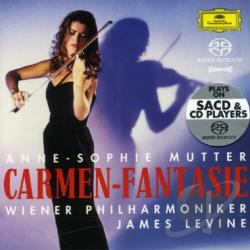 Levine / Mutter / Vpo - Carmen-Fantasie CD Cover Art