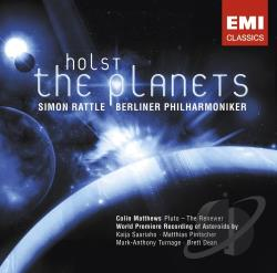 Holst / Rattle - Holst: The Planets; Asteroids CD Cover Art