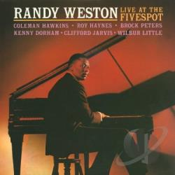 Weston, Randy - Live at the Five Spot CD Cover Art