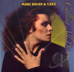 Bolan, Marc - Calling All Destroyers CD Cover Art