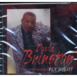 Brinston, David - Fly Right CD Cover Art