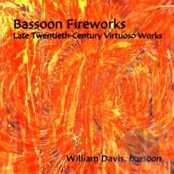 Cavis / Gubaidulina / Nelson - Bassoon Fireworks: Late Twentieth-Century Virtuoso Works CD Cover Art