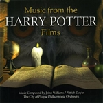 City Of Prague Philharmonic Orchestra - Music From The Harry Potter Films CD Cover Art