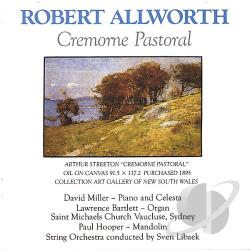 Bartlett / Hooper / Libaek / Miller - Robert Allworth: Cremorne Pastoral CD Cover Art