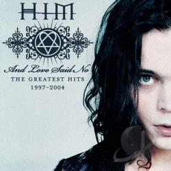 H.I.M. - And Love Said No: The Greatest Hits '97-'04 CD Cover Art