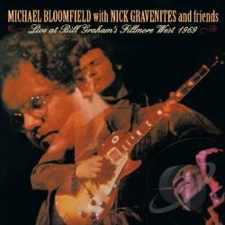 Mike Bloomfield - Live at Bill Graham's Fillmore West CD Cover Art