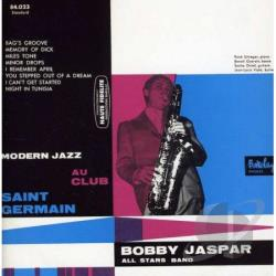 Bobby Jaspar All Stars Band / Jaspar, Bobby - Jazz in Paris: Modern Jazz au Club Saint Germain CD Cover Art