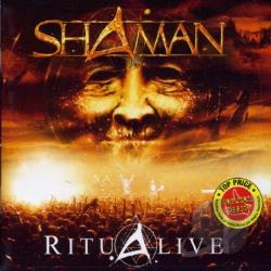 Shaman - Ritual CD Cover Art